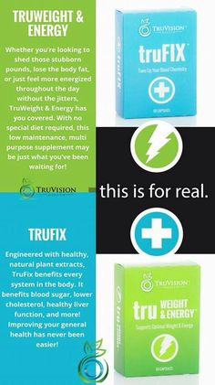 truvision weight loss and trufix ingredients