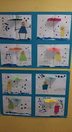 Most up-to-date Free of Charge preschool crafts weather Thoughts This web site features SO MANY Kids crafts which can be suitable for Toddler and also Tots. I believed it was time fra Kids Crafts, Projects For Kids, Diy For Kids, Preschool Weather, Weather Crafts, Kindergarten Art, Preschool Crafts, Preschool Learning, Free Preschool