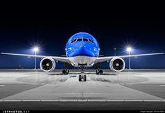 KLM Asia Boeing 777-306/ER (registered PH-BVB; photo by Chris Hijdra)
