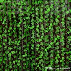 250 Cm Artificial Silk Simulation Climbing Vines Green Leaf Ivy Rattan For Home Fence Decor Bar Restaurant Wedding Decoration From Huaxia001, $0.95 | Dhgate.Com