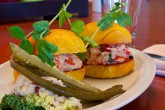 Lunch menu - Lobster Roll at elements on hollis