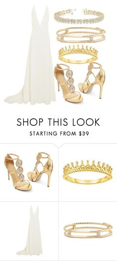 """Outfit #1870"" by lauraandrade98 on Polyvore featuring moda, Venus, Michael Lo Sordo, David Yurman y Allurez"