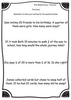 finding fractions of numbers  amounts as asked in ks sats  finding fractions of numbers  amounts as asked in ks sats  primary  fractions  pinterest  fractions math and sats
