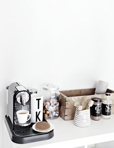 Ever since I created this Nespresso Coffee nook near our home office I have been waiting for signs of us getting tired of it. S...