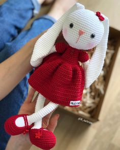 Diy Crafts - crochet,baby-New Knitting Patterns Baby Toys Crochet Bunny Ideas knitting crochet baby toys Bunny Crochet, Crochet Baby Toys, Easter Crochet, Cute Crochet, Crochet Dolls, Crochet Pattern Free, Crochet Patterns Amigurumi, Baby Knitting Patterns, Amigurumi Doll