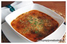 """Zupa z kurek """"Grigorjew"""" - #przepis na zupę kurkową   http://pozytywnakuchnia.pl/zupa-z-kurek-grigorjew/  #kurki #grzyby #zupa #kuchnia #obiad"""