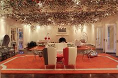VIVALUXURY: PRISTINE PLEATS - MAX & LUBOV AZRIA DINNER PARTY AT LA MAISON DE SOLEIL