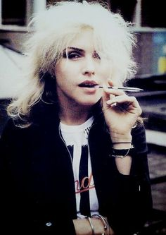 Debbie Harry - Soon found out, I gotta heart of glass.