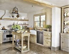 Country kitchen design - Comfortable Country Kitchen