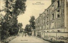 ATHIS MONS rue Edouard Vaillant où habitaient mes amis Mauricette et Serge Paris, Rue, Montmartre Paris, Paris France