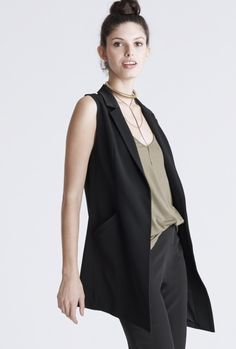 Midi Length Vest    Consumed with the unknown and the need to go places. Haute  Hippie 05f98bd6f