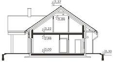 Projekt domu Pireus III Pasywny 3b LDP03b 139,06 m² - koszt budowy - EXTRADOM How To Plan, House, Home, Homes, Houses