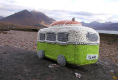 Caravana tejida?...this is knitted but would love to make a crocheted version!
