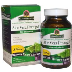 Buy Nature's Answer Aloe Vera Phytogel 250 mg 90 VCaps at Megavitamins Supplement Store Australia.Aloe Vera Phytogel is Advanced Botanical Fingerprint Technology.Aloe Vera Phytogel Aloe Barbadensis Identified for Authenticity.
