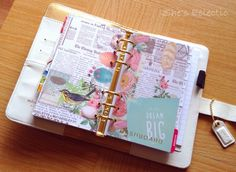 She's Eclectic: Webster's Pages colour crush planner review