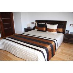Luxusní přehozy na postel v béžové barvě s proužky - dumdekorace.cz Bed, Furniture, Home Decor, Decoration Home, Stream Bed, Room Decor, Home Furnishings, Beds, Home Interior Design