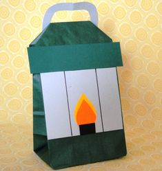 Camping Lantern Camp Out Theme Birthday Party Treat bag