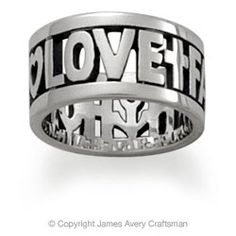 James Avery faith, hope, and love :)   got this for conformation, love it :)
