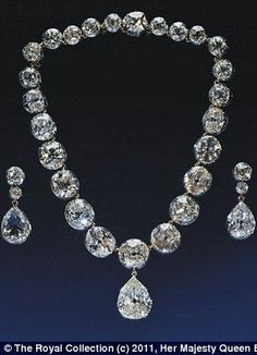 Treasures including Queen Victoria's widow crown, the coronation necklace and earrings will be part of an exhibition at Buckingham Palace in 2012.