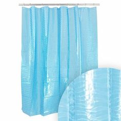 harman blue wave shower curtain