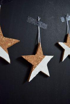 DIY - Cork Ornaments