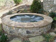OOOOOH...nice hot tub!