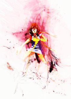 Kamala Khan / Ms. Marvel Ms Marvel Captain Marvel, Black Widow Marvel, Marvel Fan, Comic Book Characters, Marvel Characters, Marvel Movies, Female Characters, Ms Marvel Kamala Khan, Bad Comics
