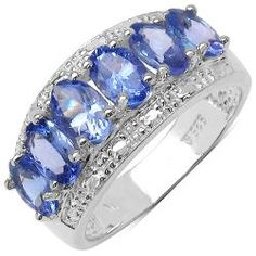 @Overstock - Lavender tanzanite ringSterling silver jewelryClick here for ring sizing guidehttp://www.overstock.com/Jewelry-Watches/Sterling-Silver-Genuine-Tanzanite-Ring-2-3-5ct-TGW/6420675/product.html?CID=214117 $115.99