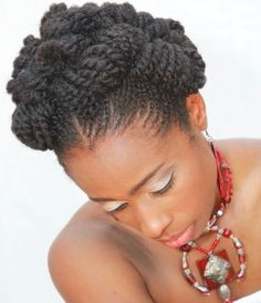 natural prom hairstyles : 1000+ images about nappy hair style ideas on Pinterest Bantu Knots ...