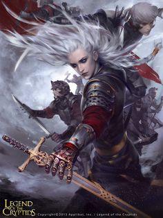 High Commander Valente - Legend of the Cryptids