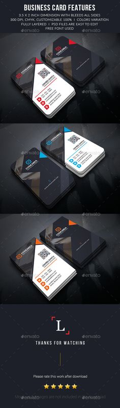 """Soft Creative Business Cards -      Easy Customizable and Editable     Business card 3.75""""x2.25"""" in with bleed     CMYK Color     Design in 300 DPI Resolution     Print Ready Format     06 PSD files     Help File     Images are not Included in the Download."""