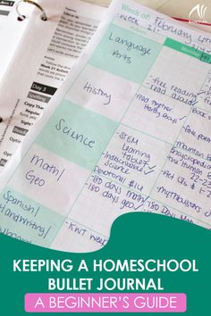 Keeping a Homeschool