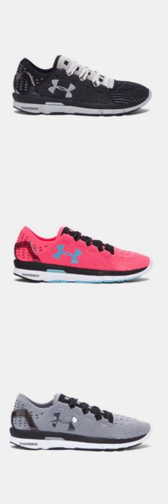 Under Armour SpeedForm Slingshot. A knit running shoe that helps you defy the limits of speed.  The  Slingshot is an all-new running system that acts as one big muscle-mimicking compression spring for your foot. Now, no matter how fast you are…you get faster.
