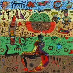 Hussein Salim African Artists, Painting, Painting Art, Paintings, Painted Canvas, Drawings