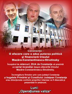 Constanţa - O afacere care a adus puterea politică şi financiară trioului Mazăre-Constantinescu-Strutinsky Movies, Movie Posters, Film Poster, Films, Popcorn Posters, Film Posters, Movie Quotes, Movie