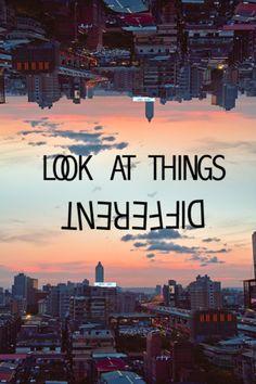 uma nova perspetiva! :)