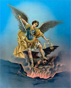 Archangels are mentioned throughout sacred Scripture in their unique role as God's messengers to people at critical times in the salvation process (Jude 9; 1 Thess. 4:16; Dan. 10:13, 21; 12:1). The archangel Michael is introduced as the leader of the faithful angels in their struggle against the rebel angels led by Lucifer, or Satan, who made war in heaven against the will of God (Rev. 12:7-9).