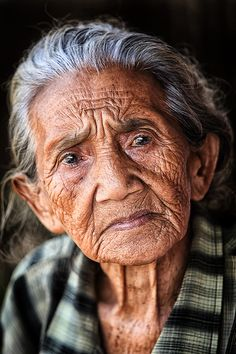 "Named ""Crow"" ...Wise, old, non-comformist tribal woman. Oldest member of tribe. Rough, tough, misunderstood (as a result of not giving a crap what people think) and wise."