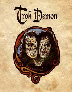 Charmed Series Book of Shadows: Trok Demon Wiccan Spell Book, Witch Spell, Wiccan Spells, Witchcraft, Charmed Spells, Charmed Book Of Shadows, Charmed Tv Show, Charmed Sisters, Ghost And Ghouls