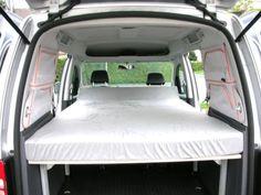 Nachdem wir als Camper uns unseren Traum vom Caddy erfüllt hatten, stellte sich die Frage nach der...,Bett für VW Caddy,inkl.Tisch,Campingbett,Caddybett in Nordrhein-Westfalen - Monheim am Rhein 210 EUR