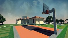 Mediterranean Estate Minecraft house ideas 3