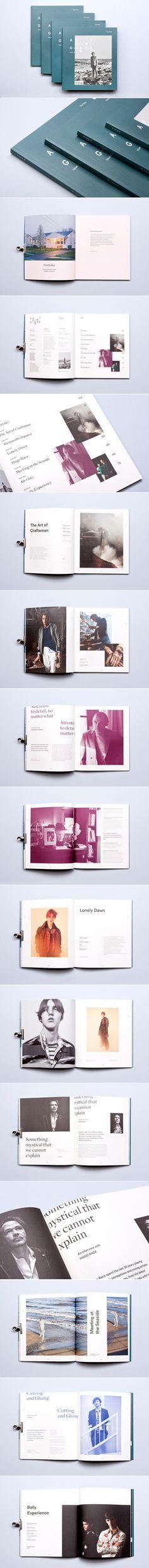 Avant Garde Magazine 01 on Behance - created via https://pinthemall.net
