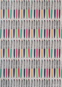 Floaty Pens Wrapping Paper