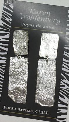 Aros de plata reticulados AR0153