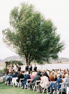 A gorgeous lakeside wedding venue!