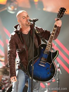 Chris Daughtry-- love his voice!  Has some great songs, that stay in my head all day!
