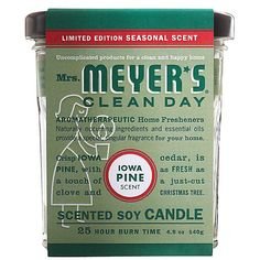 Mrs. Meyers Soy Candle - Iowa Pine - 4.9 oz