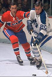 Jean Beliveau & Bob Pulford, two of the best to ever play the game. Nhl Hockey Jerseys, Ice Hockey Teams, Montreal Canadiens, Hockey Shot, St Louis Blues, Vancouver Canucks, Nfl Fans, National Hockey League, Toronto Maple Leafs