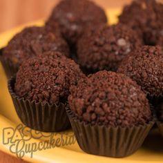 Brigadeiros de chocolate belga com Ovomaltine
