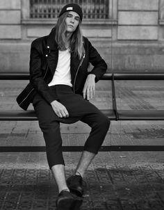 Baggy tailored trousers - Trousers - Bershka Belgium